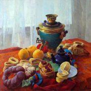Victor Yuryevich Dovbenko. Breakfast