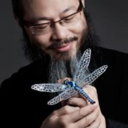 Wallace Chan and his dragonfly