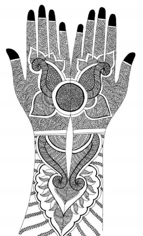 Wonderful mehndi design