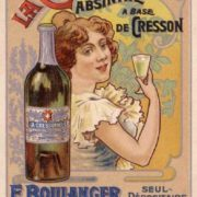 Advertisement of La Cressonnee