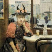 Albert Emmanuel Bertrand. The Absinthe Drinker. 1890