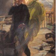 Albert Maignans. Green Muse, 1895