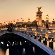 Alexander III Bridge, France, Paris