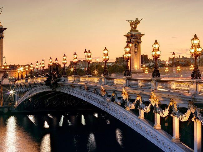 Alexander III Bridge, France, Paris