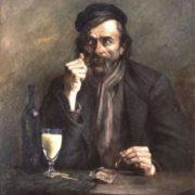 Alfred Brisard. Le Buveur d'Absinthe. 1891