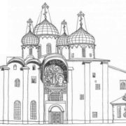 Ancient St. Sophia Cathedral in Novgorod