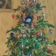 Astapova Deborah Mikhailovna. The New Year Tree. 1961