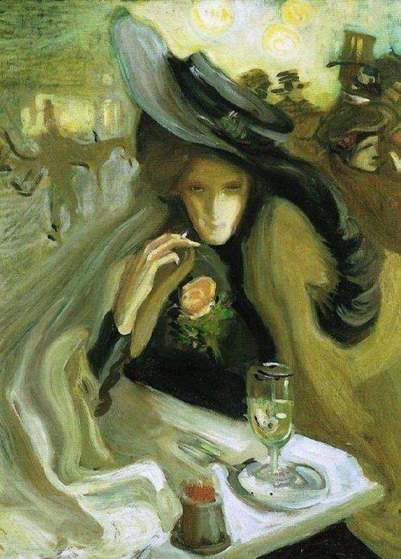 Axel Torneman. Absinthe. 1902