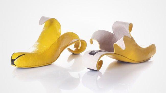 Banana shoes by Kobi Levi