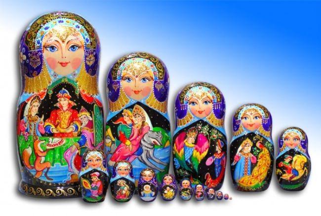 Beautiful Matryoshka