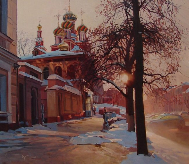 Beautiful Nizhny Novgorod by Alexei Chernigin