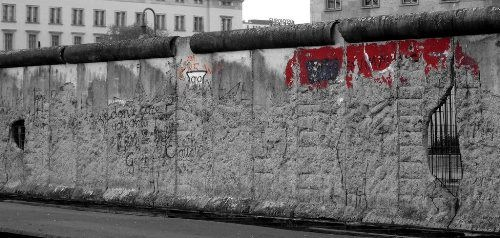 Berlin Wall - death strip