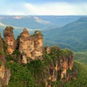 Blue Mountains in Australia