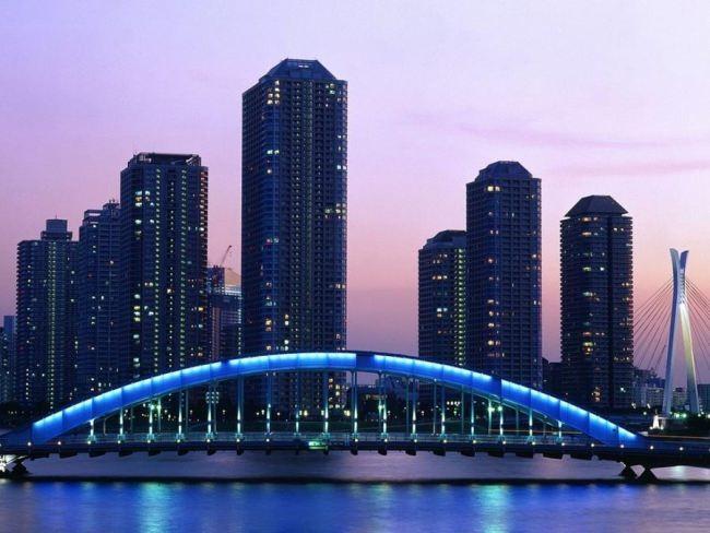 Bridge in Tokyo