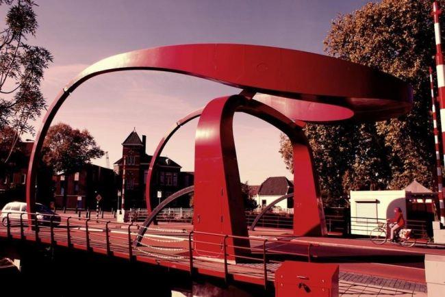 Bridge in Utrecht, the Netherlands