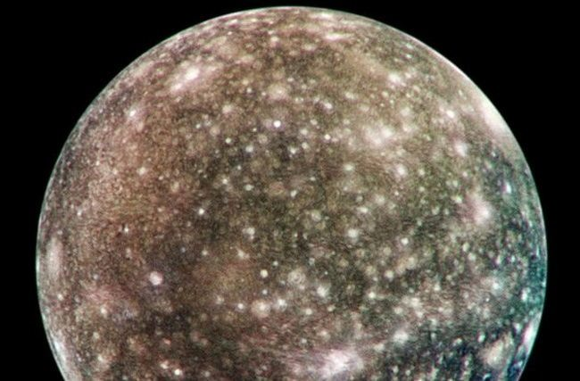Callisto - the most distressed satellite in the solar system