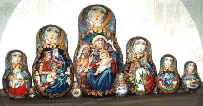 Christmas. Irina Dolgova