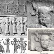 Deity with horns