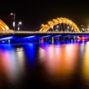 Dragon Bridge in Danang, Vietnam