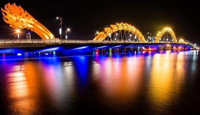 Dragon Bridge in Danang, Vietnam