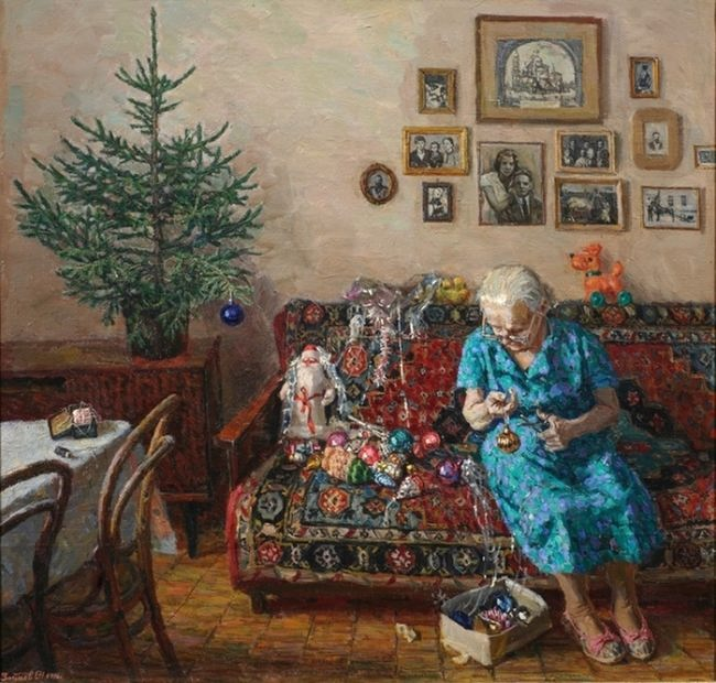 Egor Zaitsev, The Christmas Tree, 1996