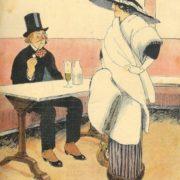 Fabien Fabiano. Illustration de Journal Le Sourire. 1911