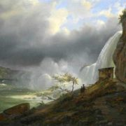 Ferdinand Richardt. View of Niagara Falls