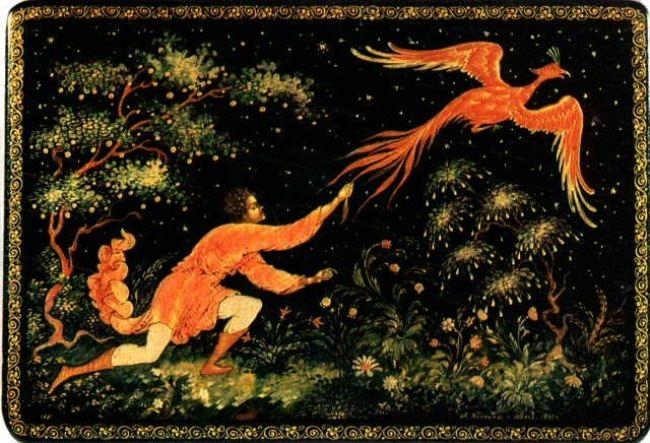 Firebird - symbol of immortality