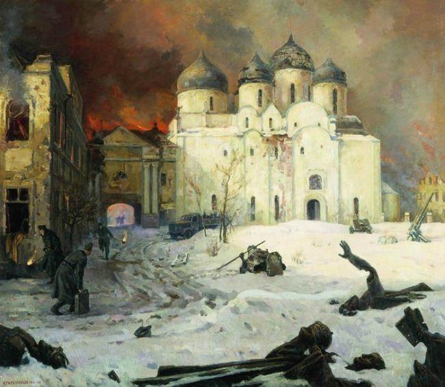 Fleeing the Nazis from Novgorod. 1944-1946