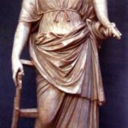 Fortuna, the goddess of happiness, destiny and fortune