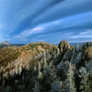 Graceful Ural Mountains