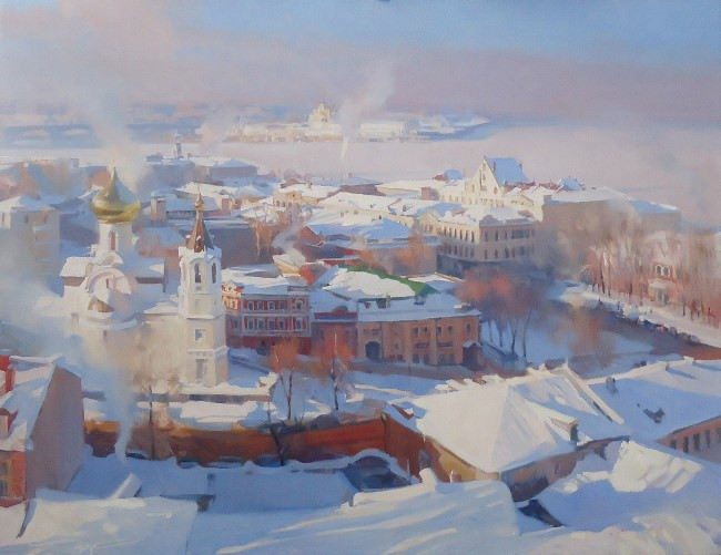 Great Nizhny Novgorod by Alexei Chernigin