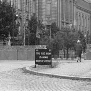 Invalidenstrasse Checkpoint. September 9, 1961