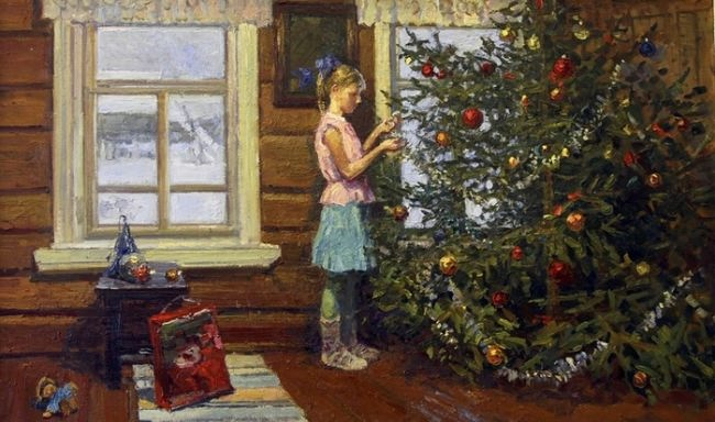 Irina Rybakova, Christmas Tree, 2012