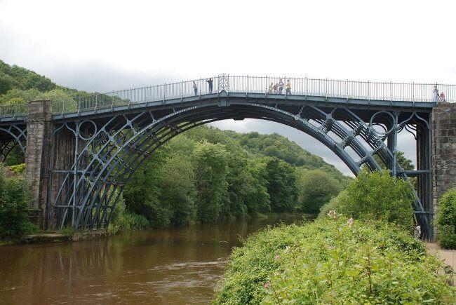Iron Bridge, Shropshire, England