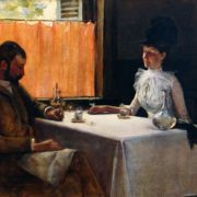 Irving Ramsey Wiles. Absinthe drinkers. 1887