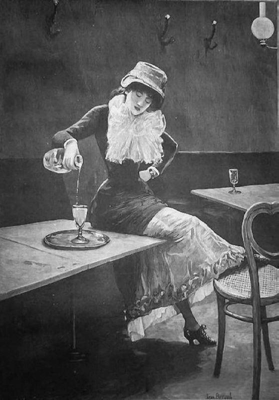 Jean Beraud. L'absinthe. 1882