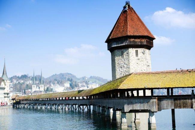 Kapelbrucke, Lucerne, Switzerland