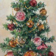 Kharchenko Victoria Vladimirovna. Christmas tree. 2008