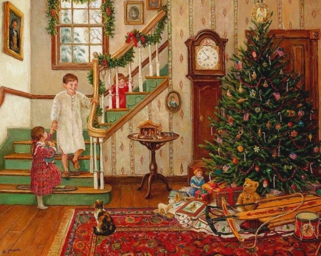 Lee Stroncek. A Christmas Morning.