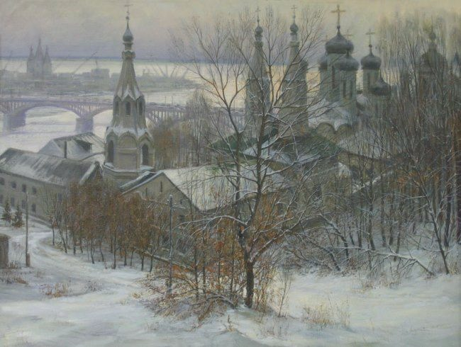 Lukyanov Victor. The Annunciation Monastery in Nizhny Novgorod