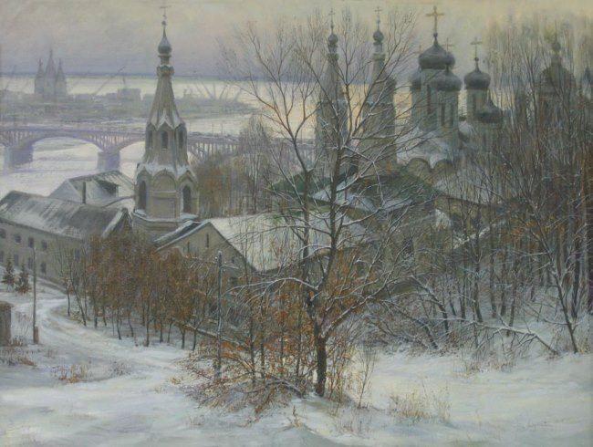 Lukyanov Victor. The Annunciation Monastery in Nizhny Novgorod