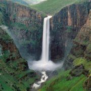 Malecounane Waterfall, Lesotho