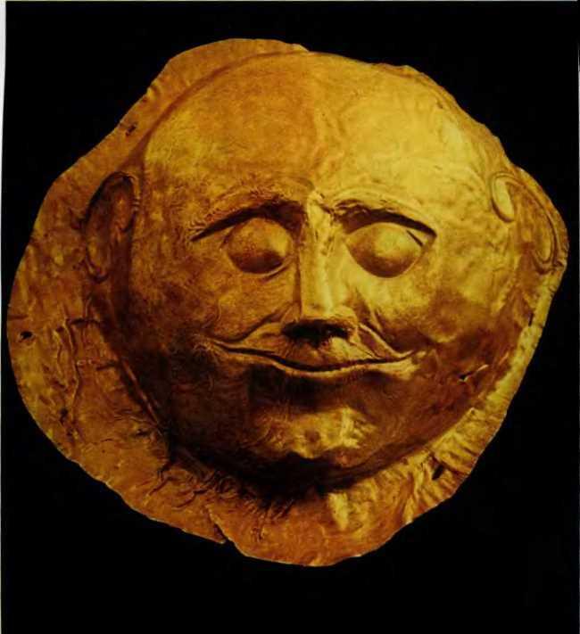 Mask. Athens, National Museum