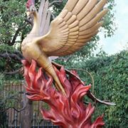 Monument to Firebird in Japan