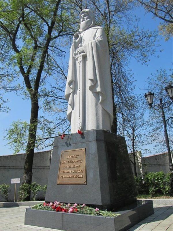 Monument to Ilya Muromets in Vladivostok, Russia