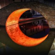 Moon Bridge, Ferrara, Italy