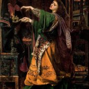 Morgana le Fay. Painter Anthony Sandis