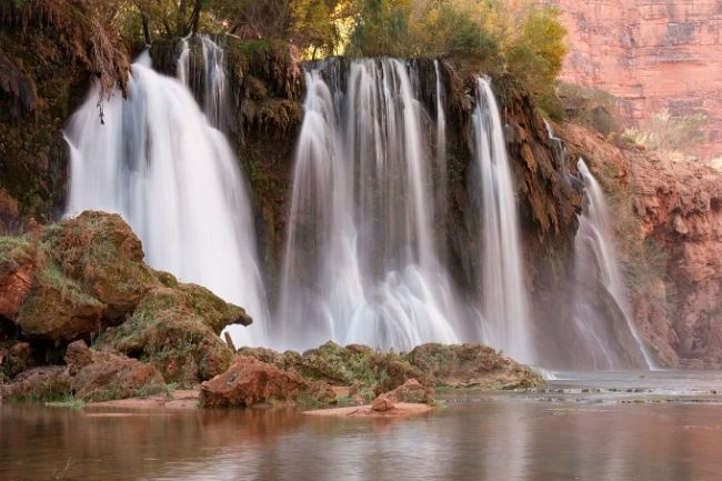 Navajo Falls, Arizona, USA