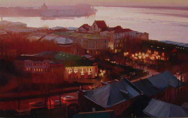 Nizhny Novgorod by Alexei Chernigin